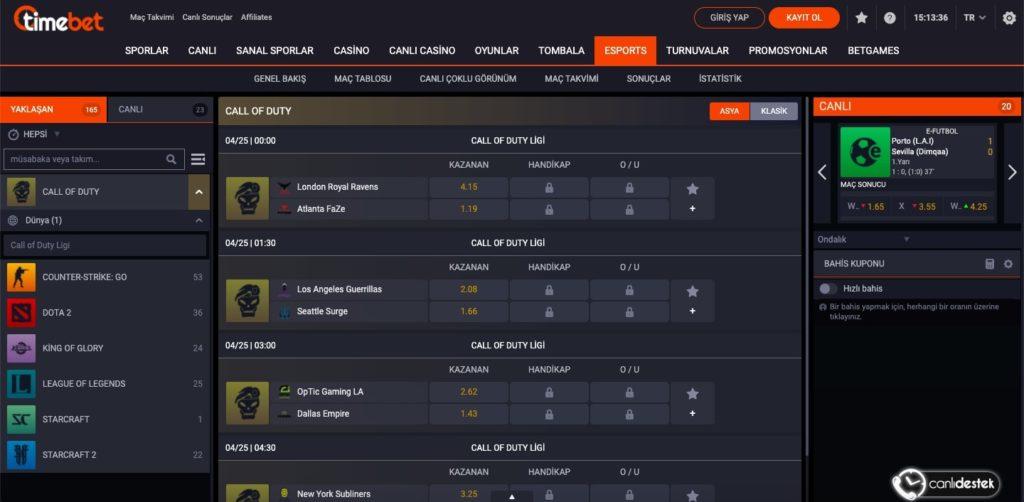 timebet esports oyna 1024x502 - Timebet Spor Bahisleri